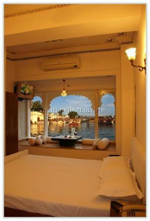 Hotel Natural Lake View: City palace view.