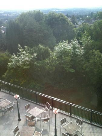 Foley Arms Hotel: The view from our room