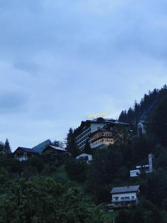 Hotel Schweizerhof: View From Family Room