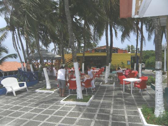 Sol Caribe San Andres: Patio del Sol caribe campo