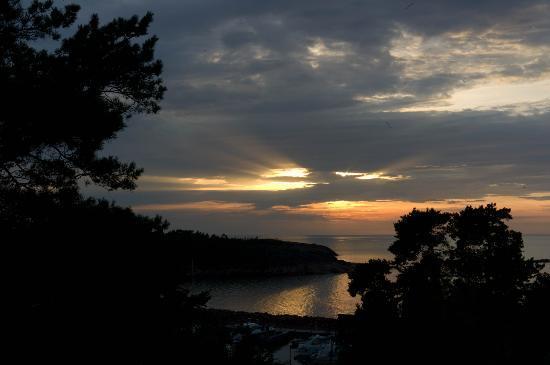 HavsVidden Aland: Sun set