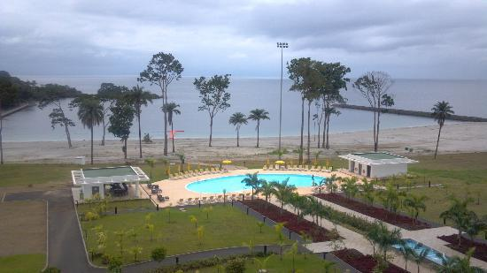 Sofitel Malabo Sipopo Le Golf: view of pool from my room
