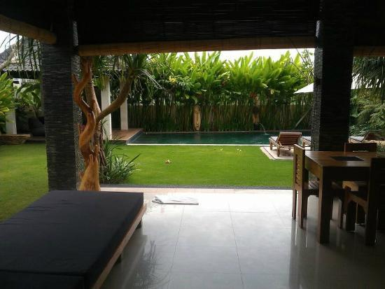 Villa Besar: From living area