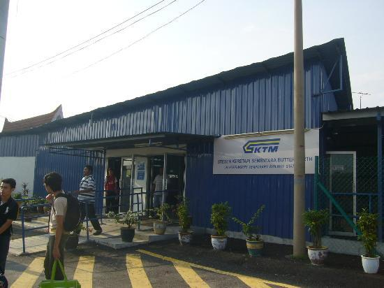 Butterworth Railway Station: Arrival and Departure Hall, Ticket office