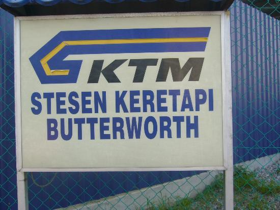 Butterworth Railway Station: Outside the Station