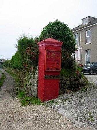 Penmenner House: e....questo rosso??? ...Fantastico!!!