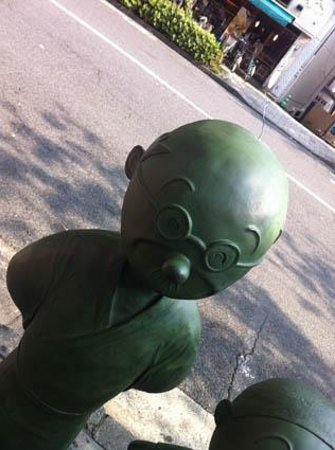 Setagaya, Japón: 波平さん髪の毛