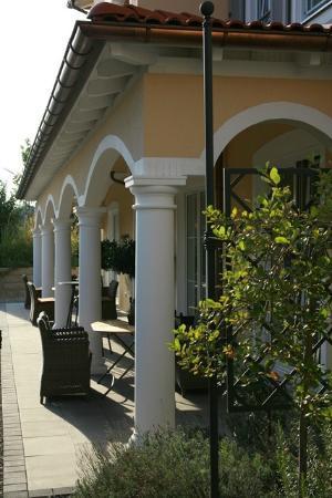 Ampervilla Hotel: Restaurant Grethe Arcades