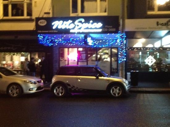 Nite Spice Indian Restaurant: bright and friendly!
