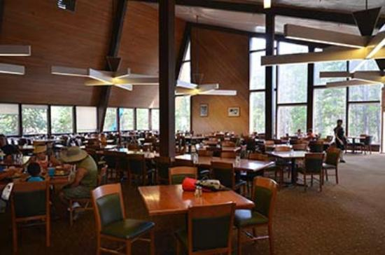 Canyon Lodge Cafeteria: Inside of canyon cafeteria 7/28/2011 3PM.
