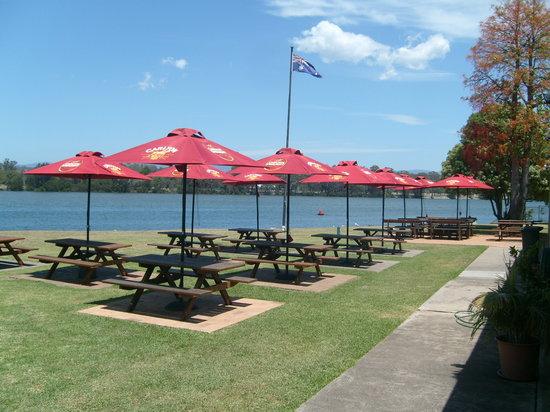 Moruya, Australia: Beer Garden