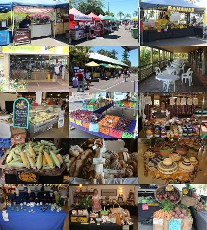 The Big Pineapple Markets: Saturday 6:30am-1pm & Sundays 8:30am-3pm
