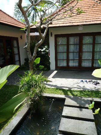 Bayad Ubud Bali Villa: To seperate villaer til hhv børn og voksne