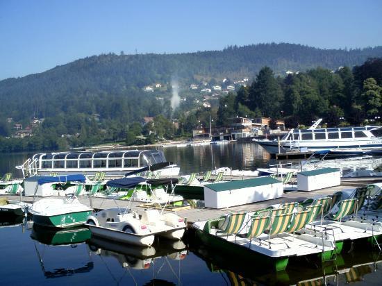 Hotel La Reserve : Vu du lac