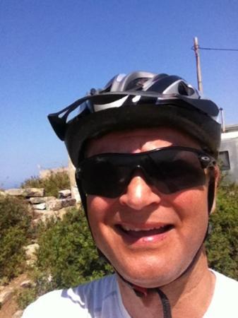 Awake Paros Watersports & Bike Tours: Highest top on Antiparos 305 mas