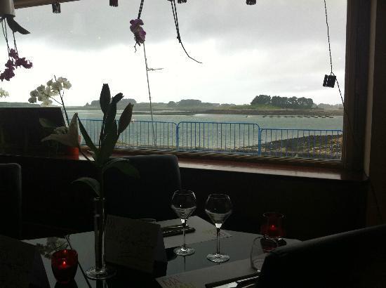 Restaurant Le 400 ap : vue sur mer