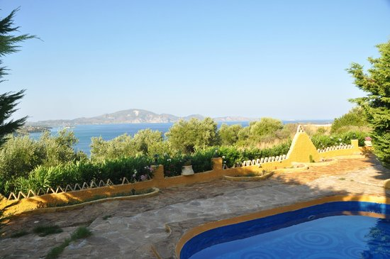 Athenea Villas: view from villa 6