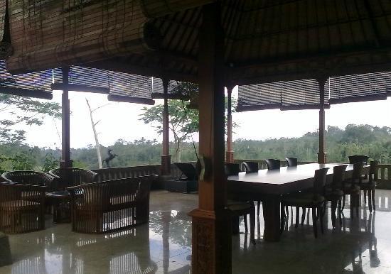 Villa Wastra: Veranda