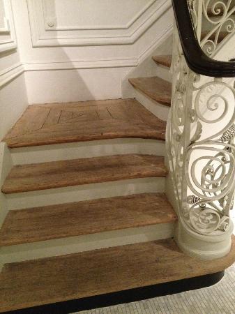 Hotel Julien: Stairways