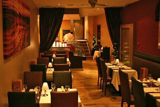 Saffron: An excelllent venue, centrally located and with a reputation for good food and.