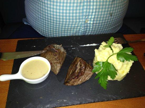L'Affaire de Goût : plat du menu bon