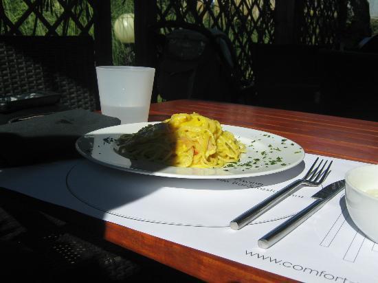 Ca' del Moro Foresteria : il pranzo...a pagamento