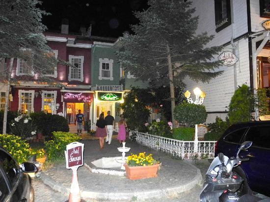 Historia Hotel: Nightime Exterior