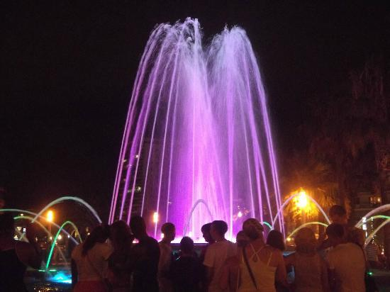 Illuminated Fountain: Fountain in Salou