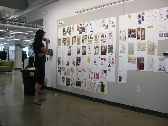 College for Creative Studies : Great design work at the Student Exhibition Opening.