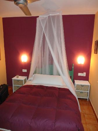 Casablanca El Petit Hotel: habitación casita papaya