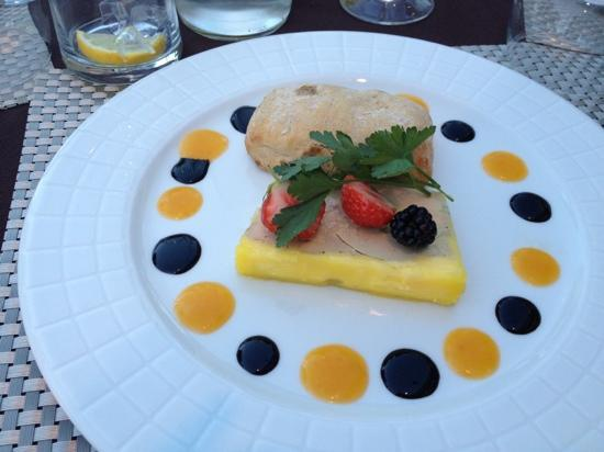 Saint-Aygulf, Francia: foie gras maison: délicieux
