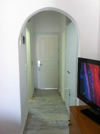 San Antonio Summerland Hotel: Room Entrance