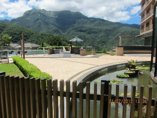 Tien Lai Resort & Spa : out door view