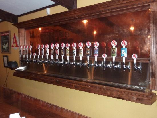Avery Brewing Company: The all important taps