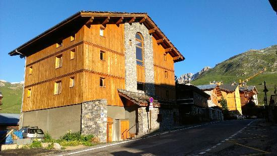 Chalet Rosset : View from Street