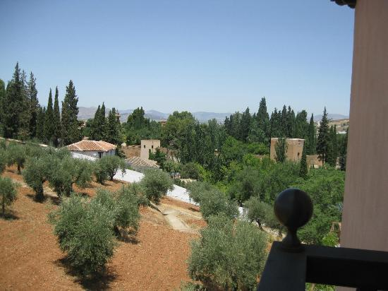 Guadalupe Hotel: View of Alhambra from the room