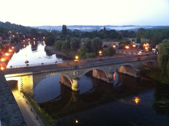Royal Vézère : View of river from pool terrace (taken at dawn)