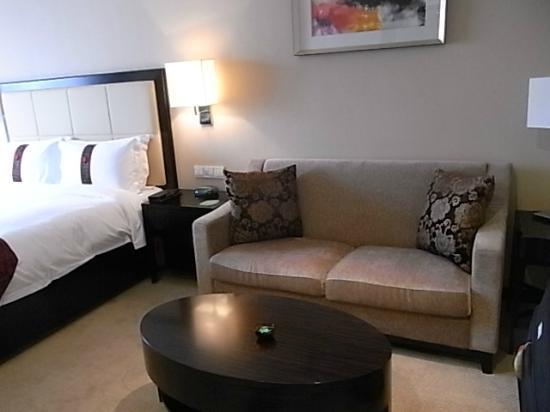 Lee Gardens Hotel Shanghai: 大きめのソファーもあり