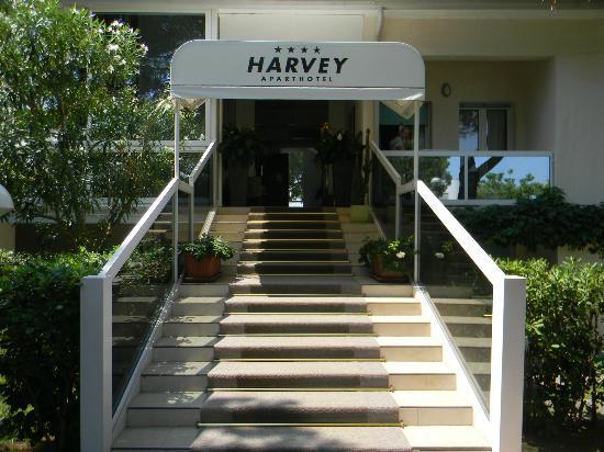 Aparthotel Harvey a Jesolo: Hoteleingang