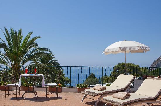 Hotel della Piccola Marina: La vista.