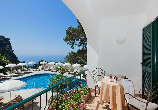 Hotel della Piccola Marina: Vista da una junior suite.