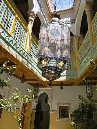 "Riad et Dar Maison Do: Riad ""lobby"" view"