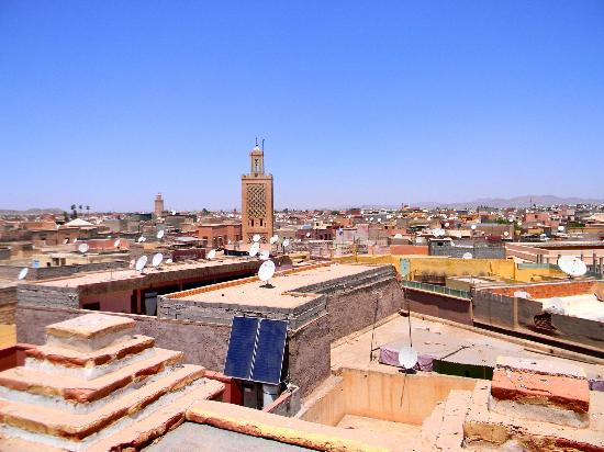 Riad et Dar Maison Do: View from Riad Terrace