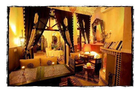 Riad Djemanna : Dinning room 1