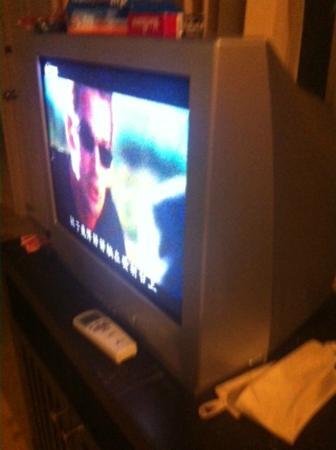 Lamai Buri Resort: écran télé !