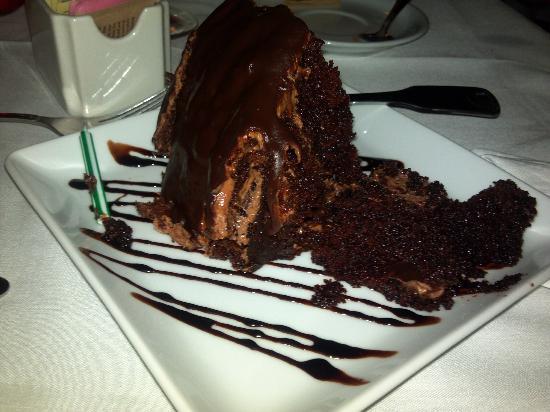 Osteria la Bottiglia: Hazelnut and chocolate cake