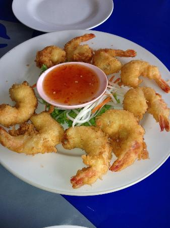 Mit Samui Restaurant: Crunchy & delicious fried prawns