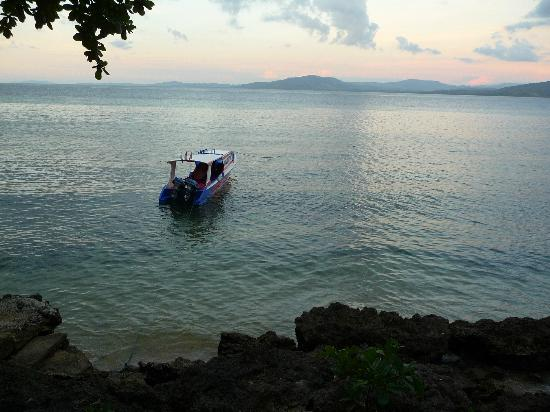 Raja Laut Dive Resort: The dive boat