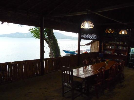 Raja Laut Dive Resort: The restaurant