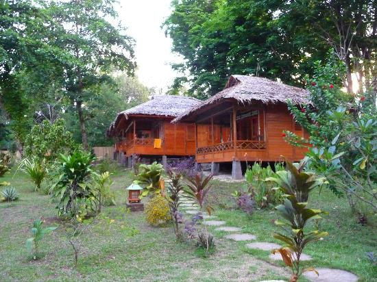 Raja Laut Dive Resort: The bungalows